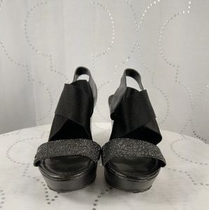 Kenneth Cole shimmering black shoe